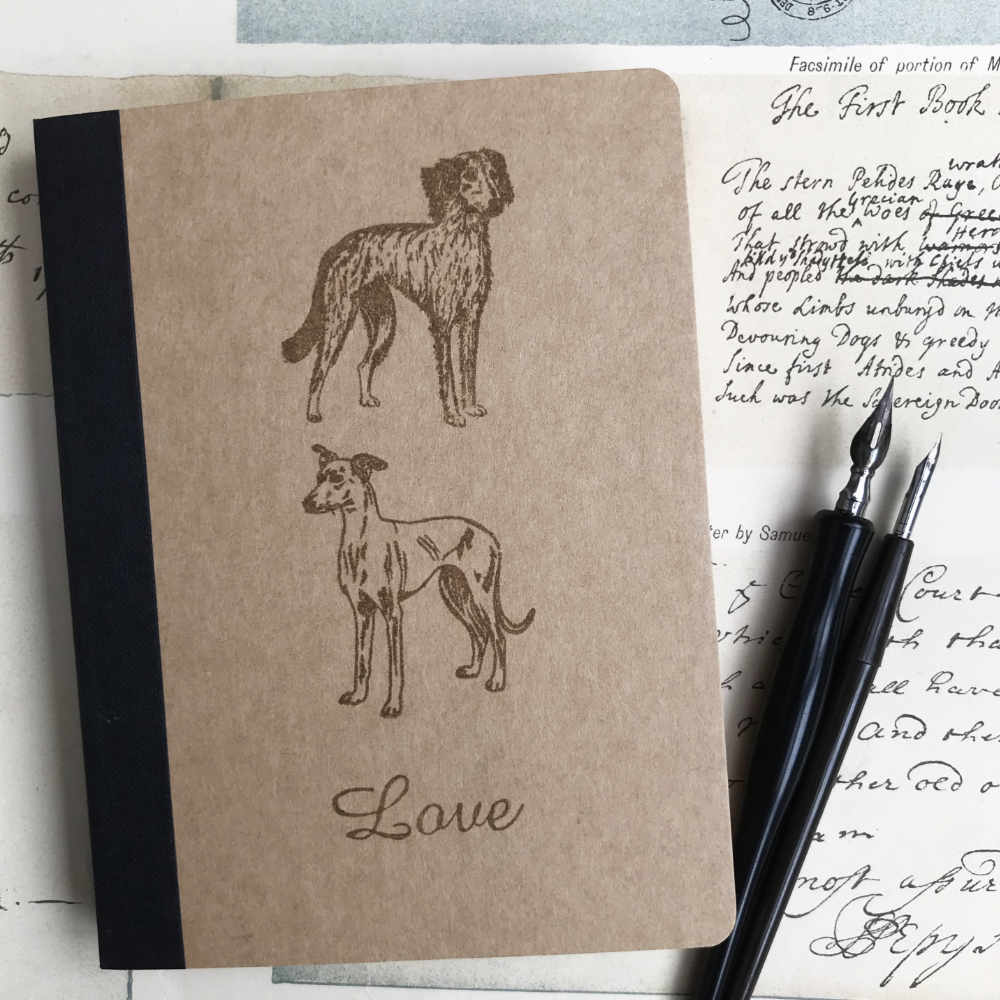 Dog Rubber Stamp Illustrations | The Enlightened Hound
