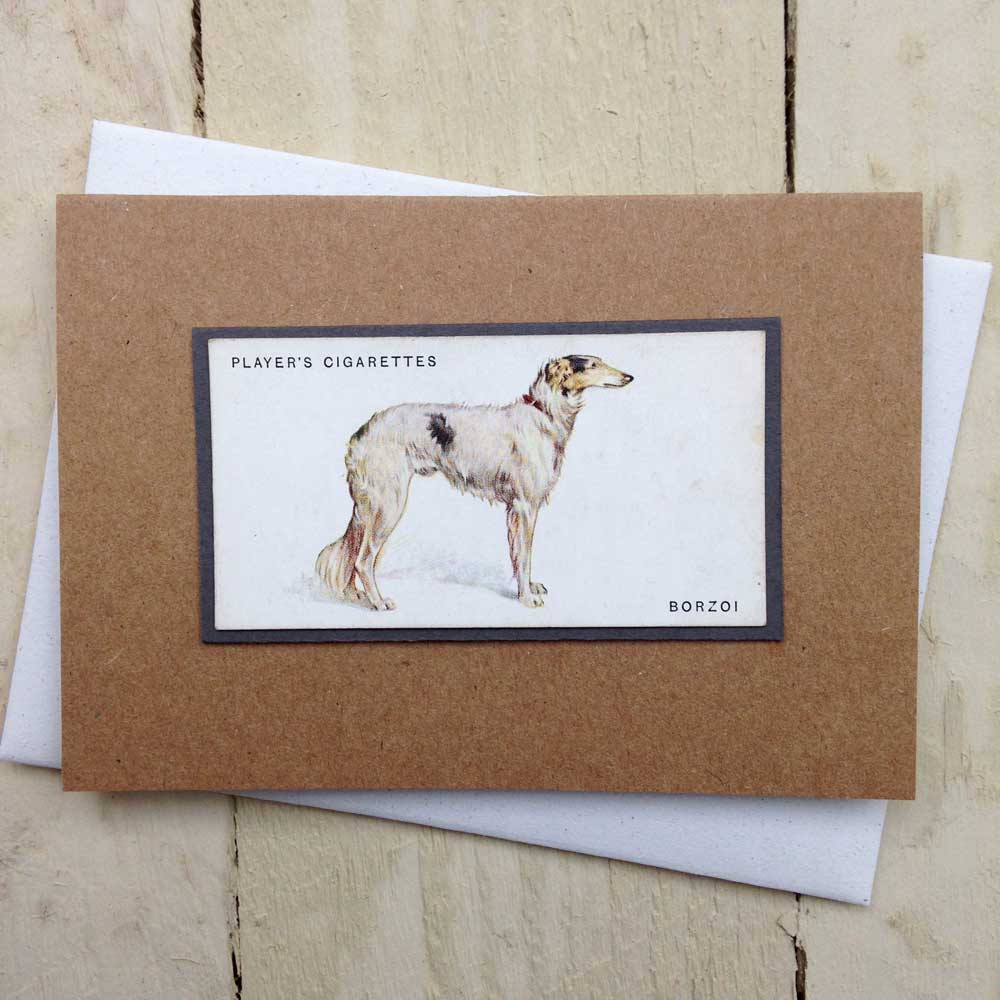 Borzoi card - The Enlightened Hound