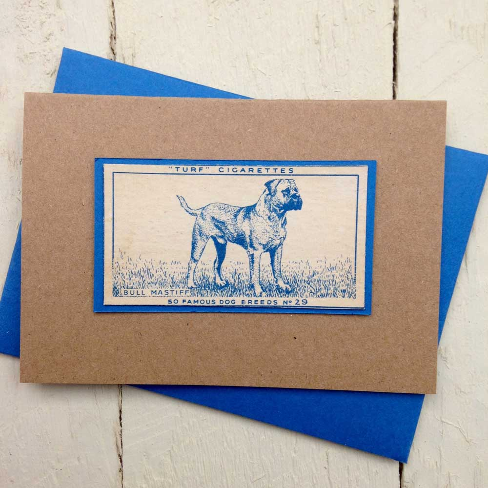 Bullmastiff greeting card | The Enlightened Hound