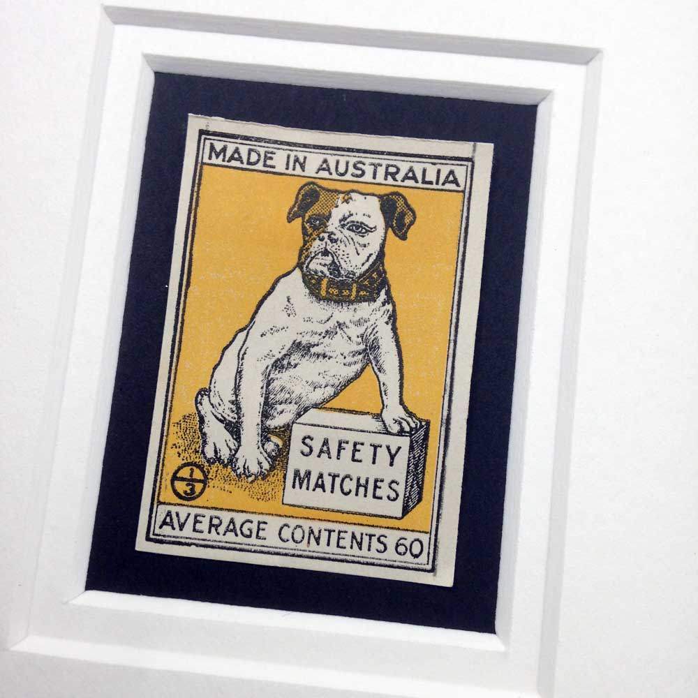 Vintage Gift for Bulldog lover by The Enlightened Hound