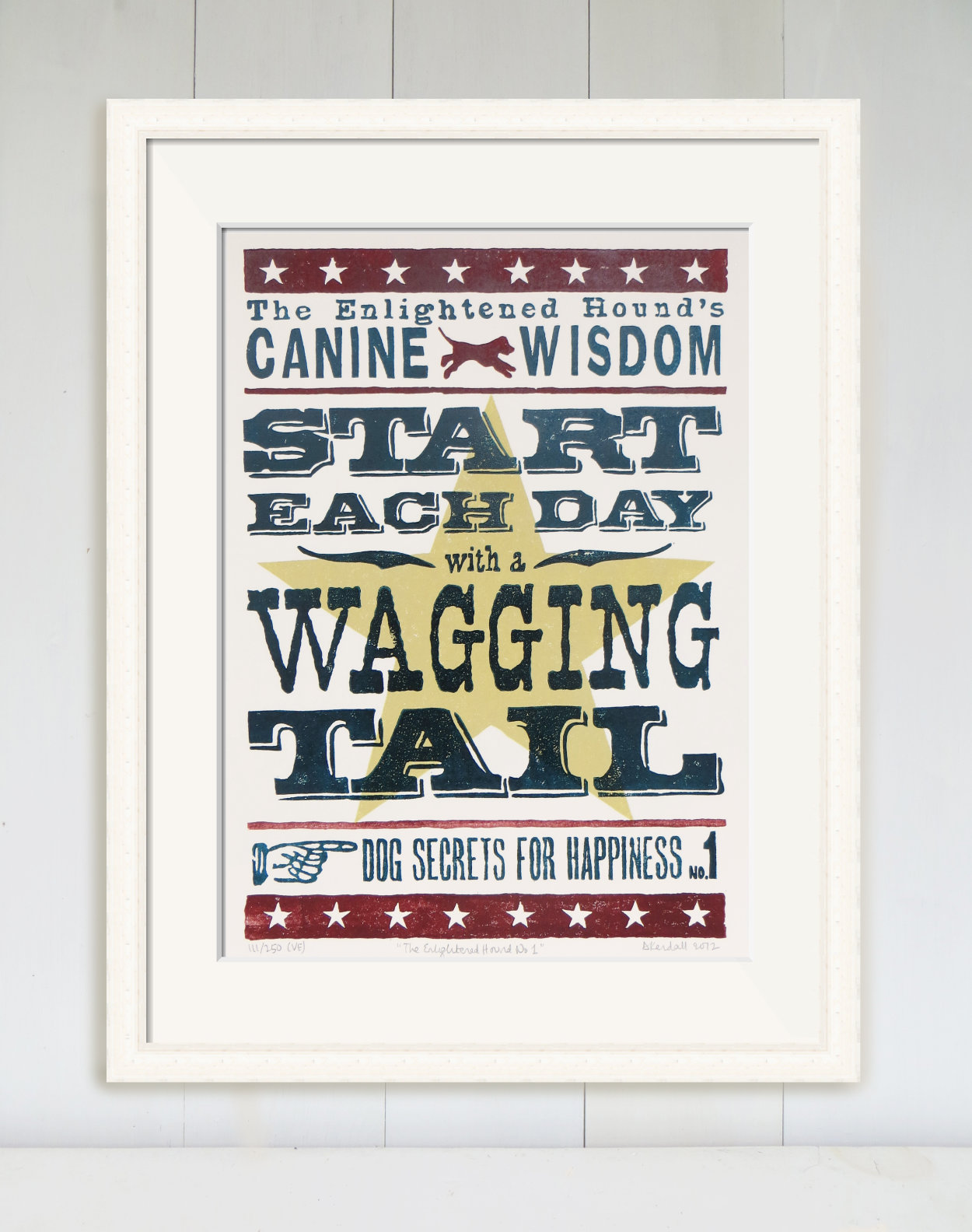 Canine Wisdom Linoprints