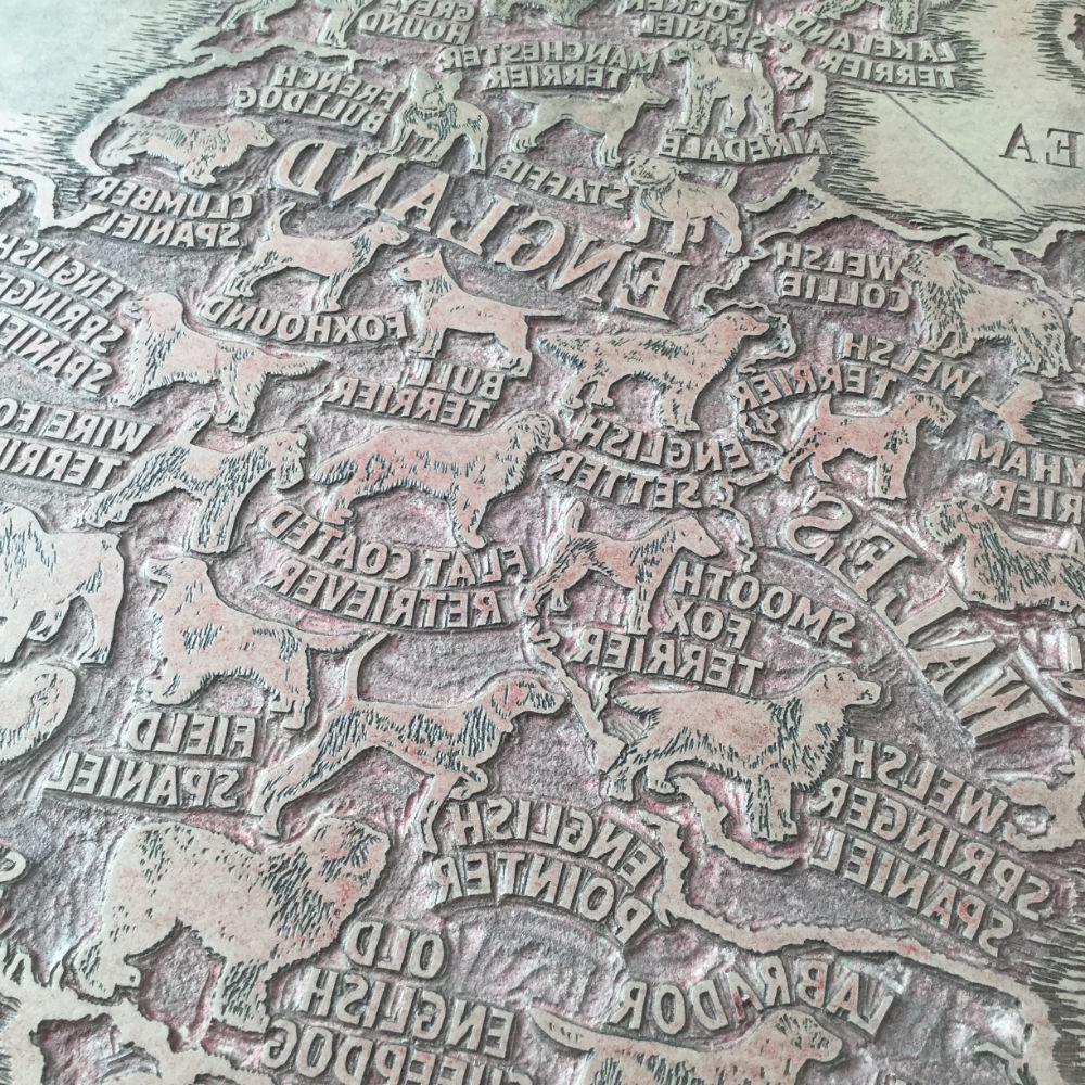 Printmaking Carving Linoleum Plate   The Enlightened Hound