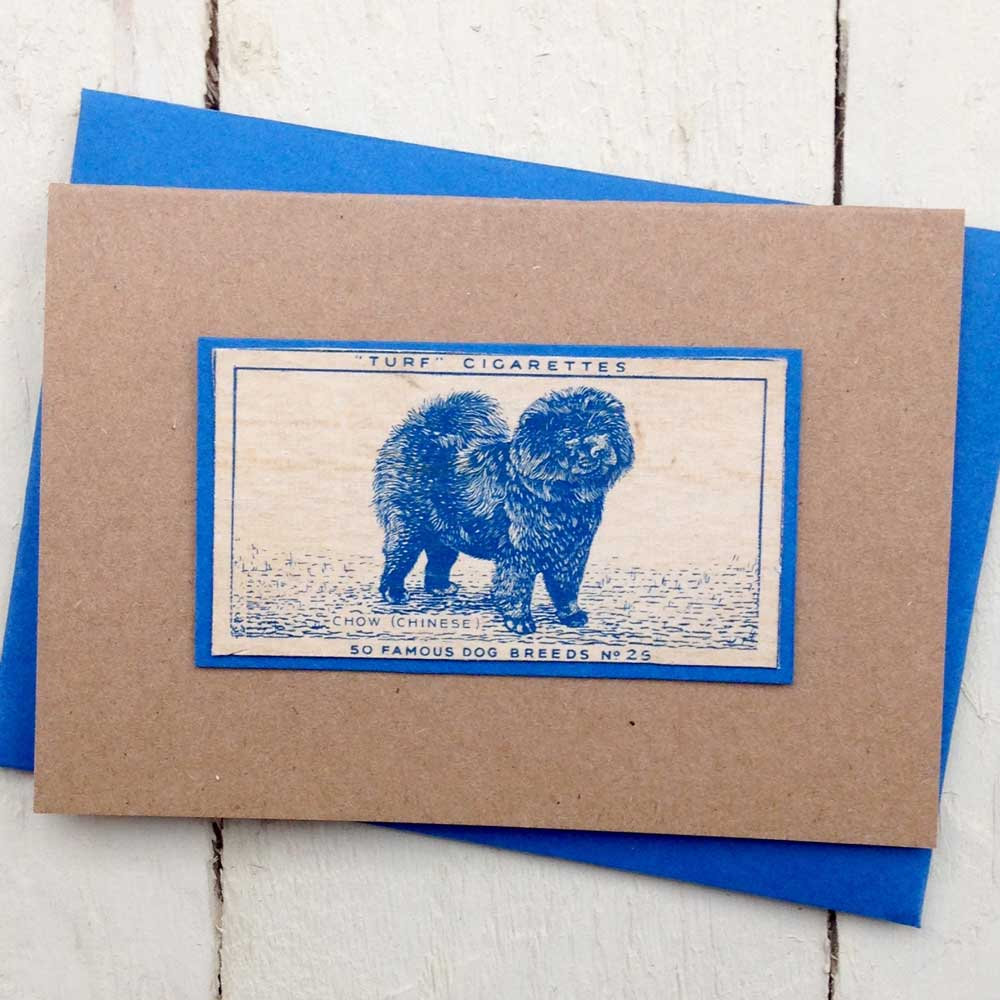 Chow Chow greeting card | The Enlightened Hound