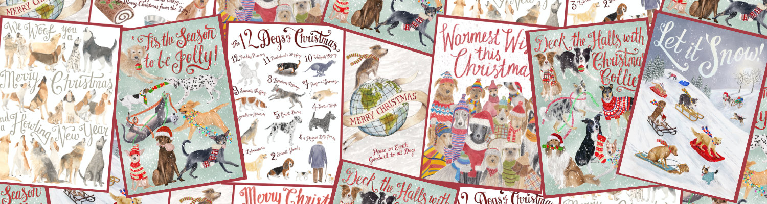 Charity Christmas cards for dog lovers