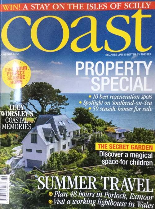 Coast Magazine UK Cover