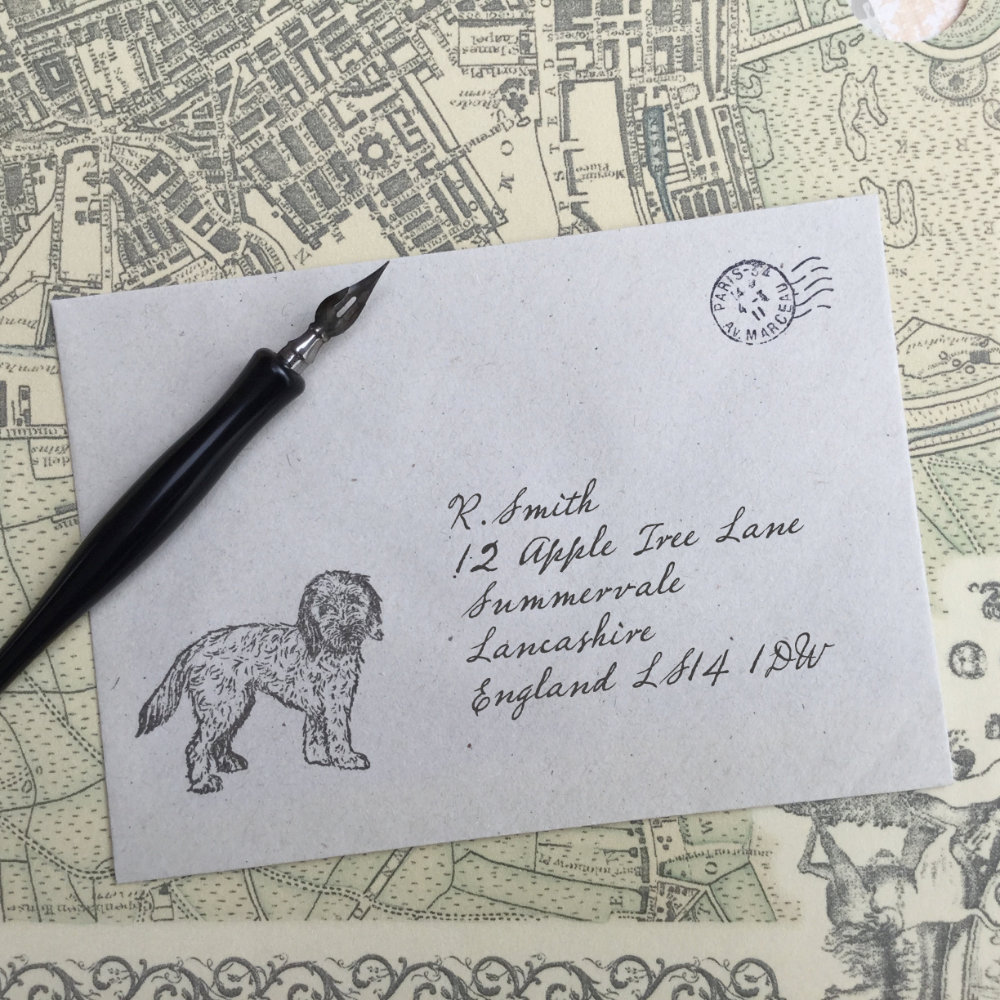 Cockapoo Rubber Stamp |The Enlightened Hound