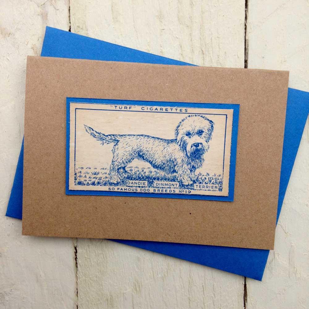 Dandie Dinmont Terrier greeting card - The Enlightened Hound