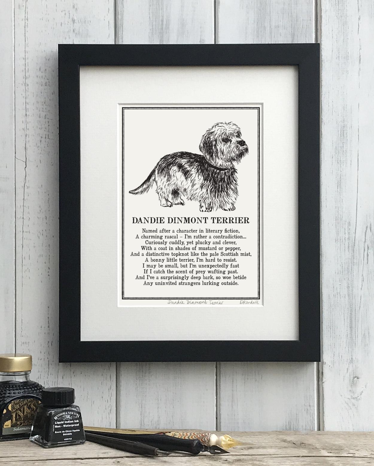 Dandie Dinmont Terrier Print