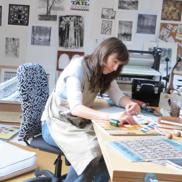 Debbie Kendall Artist Printmaker | The Enlightened Hound