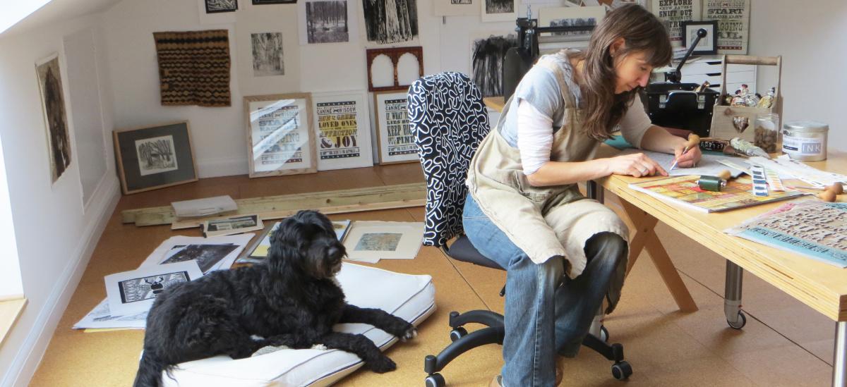 Debbie Kendall Printmaker & Dog Artist