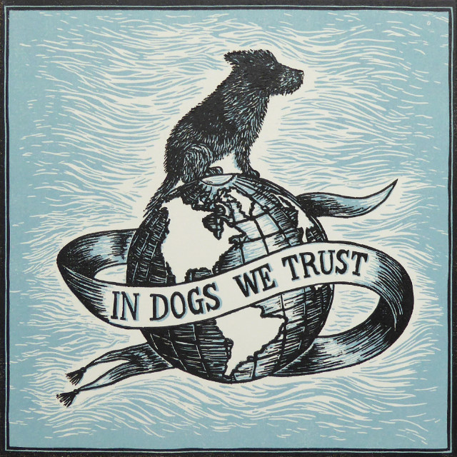 In Dogs We Trust Illustration Print | The Enlightened Hound