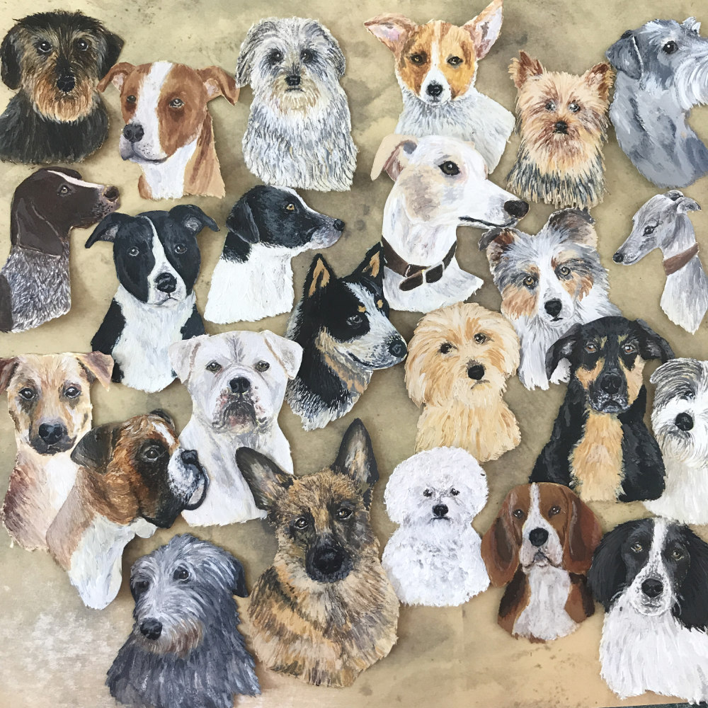 Dog Art Illustration