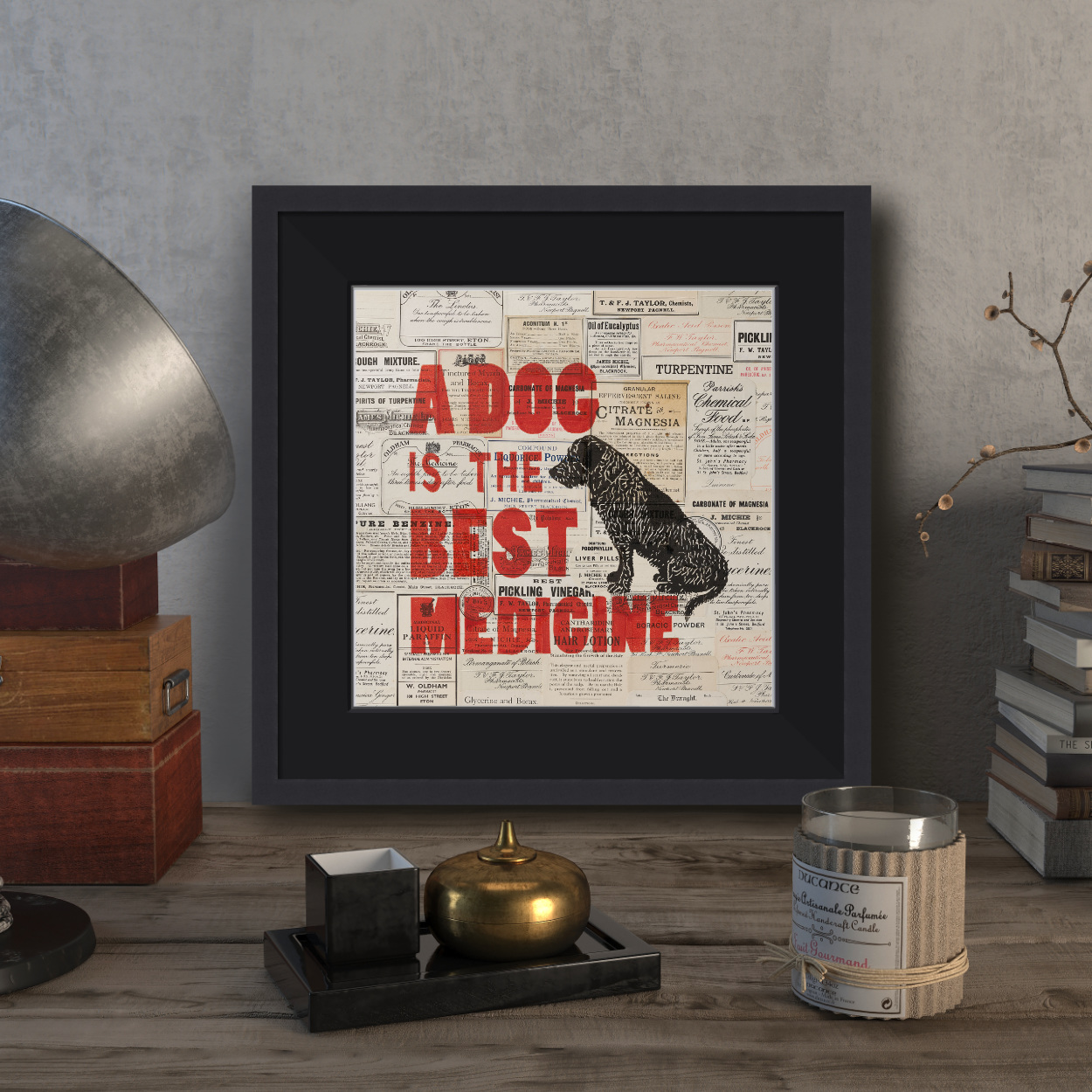 Dog Lover Best Friend Print | The Enlightened Hound