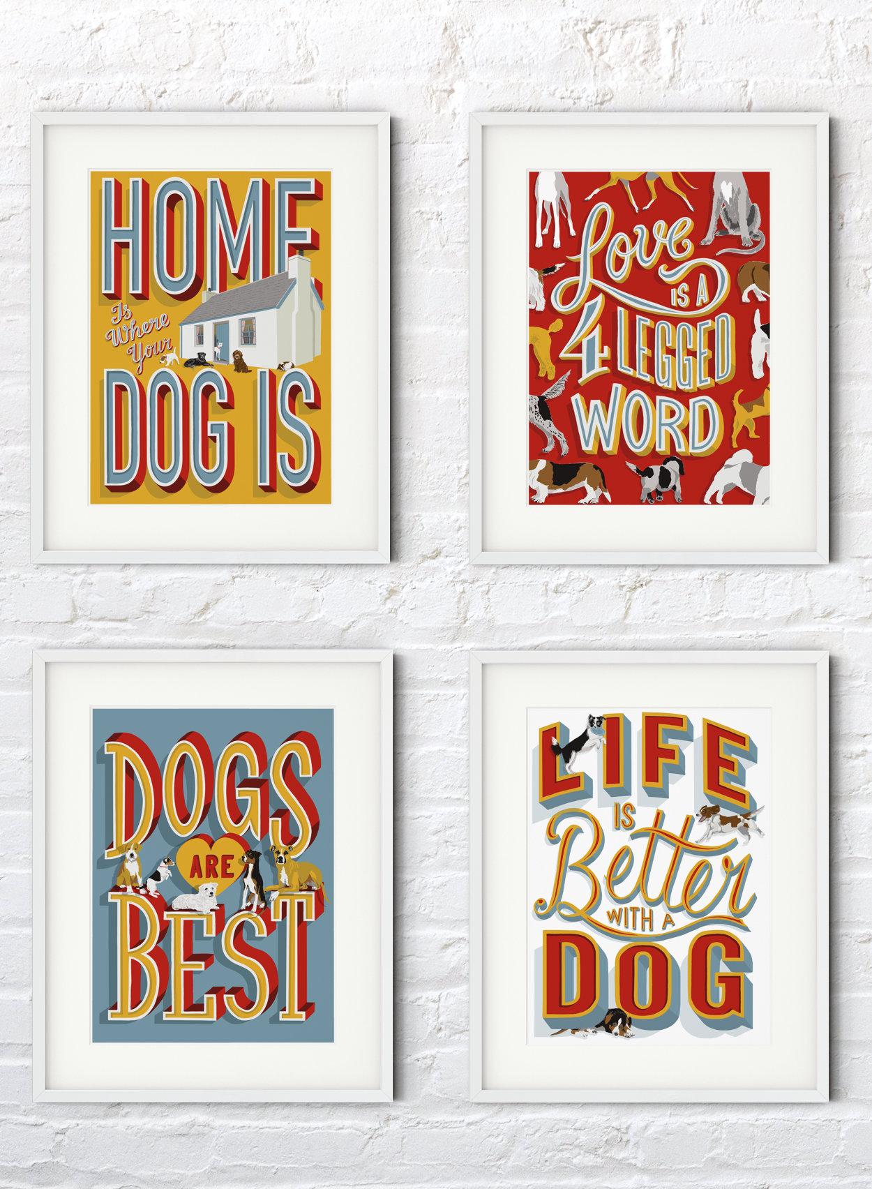 Dog Lover Framed Prints | The Enlightened Hound