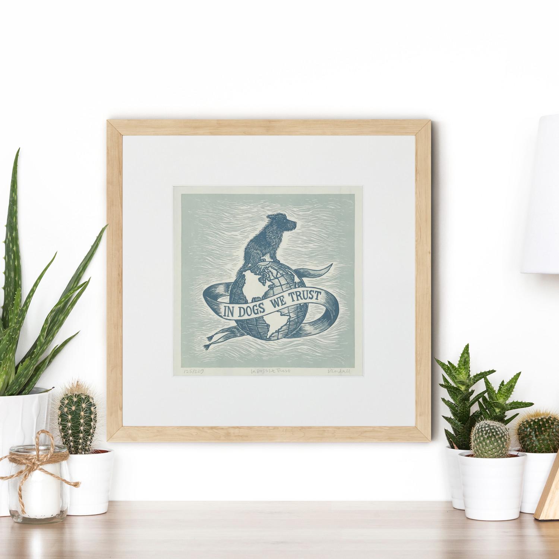 Dog Lover Gift Art | The Enlightened Hound