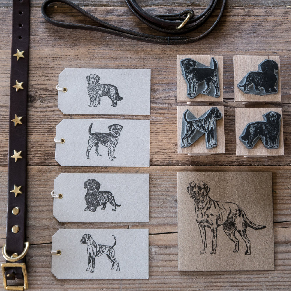 Dog Rubber Stamp | The Enlightened Hound