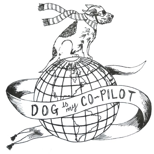 Dog globe sketch idea design | The Enlightened Hound
