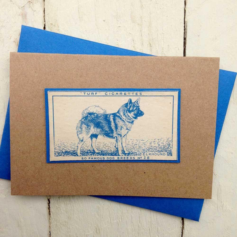 Elkhound Greeting Card | The Enlightened Hound