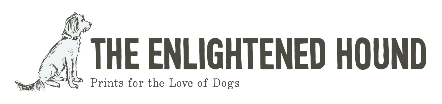 Enlightened Hound Logo Dog | The Enlightened Hound