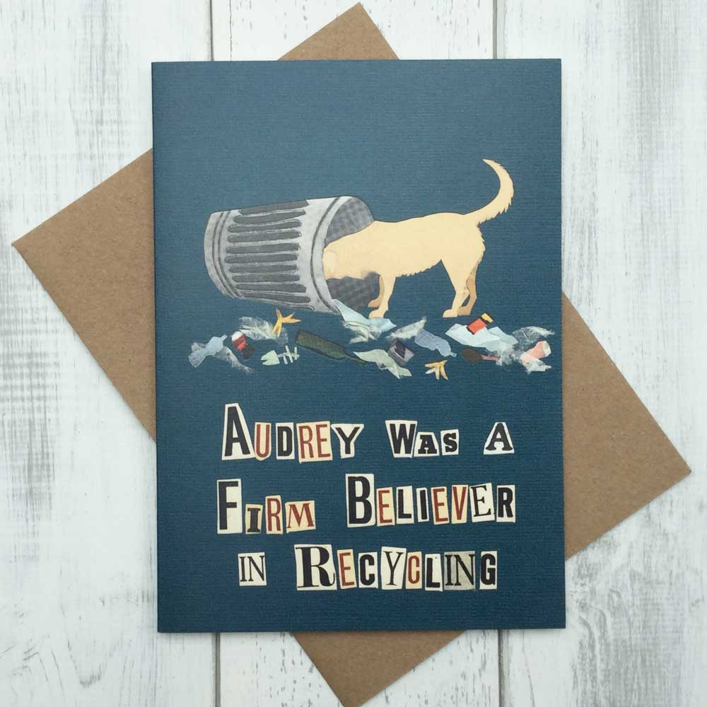 Labrador Greeting Card by The Enlightened Hound