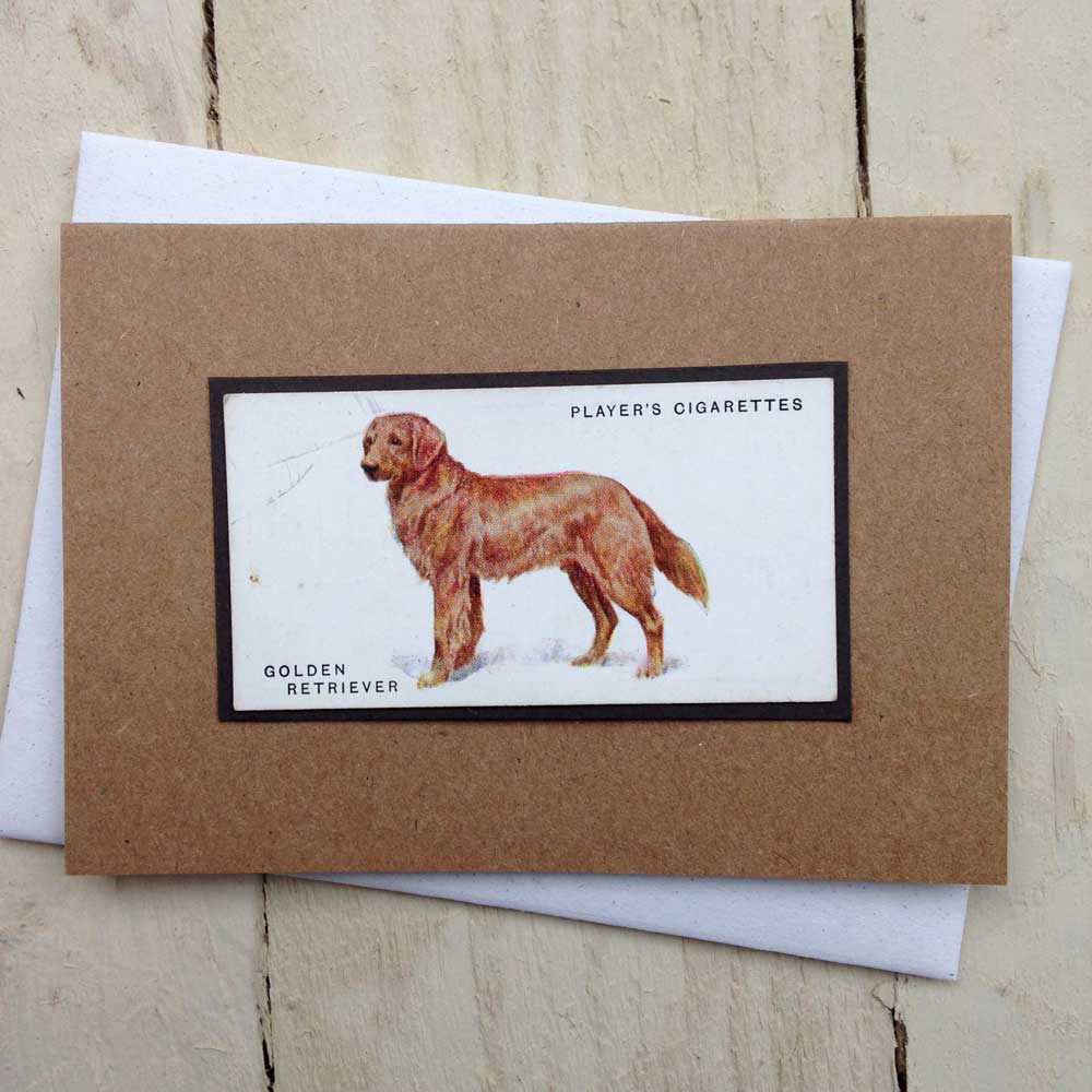 Golden Retriever Greeting Card by The Enlightened Hound