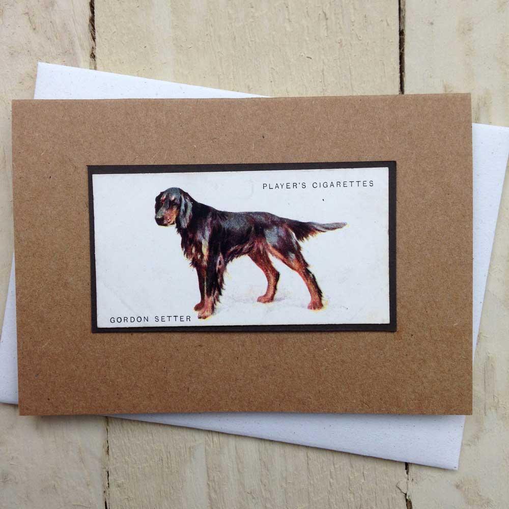 Gordon Setter Greeting Card - The Enlightened Hound