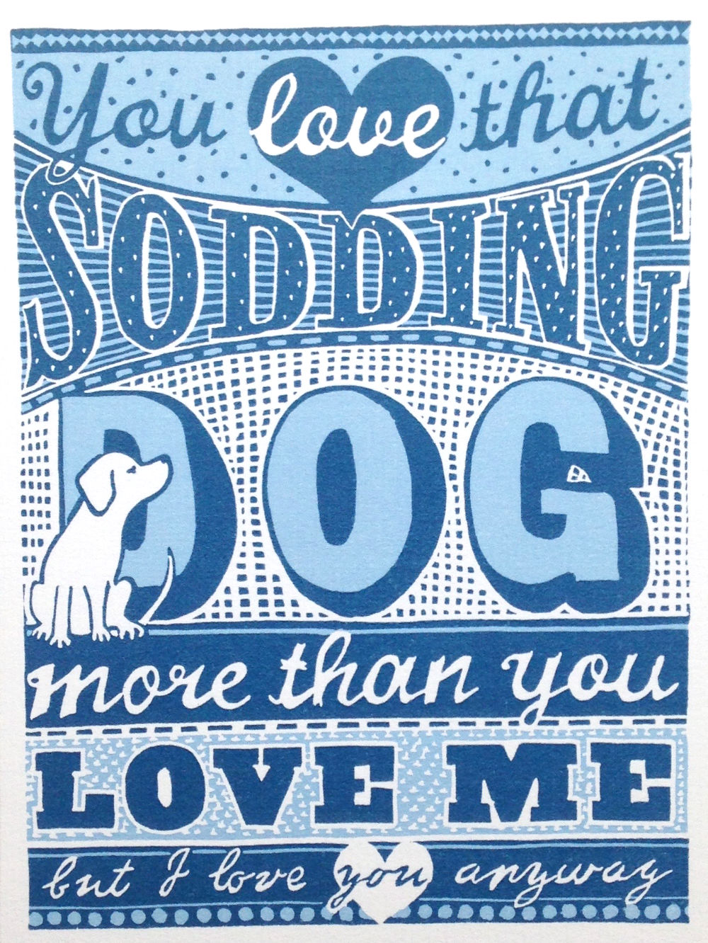Hand Lettered Design Print | The Enlightened Hound
