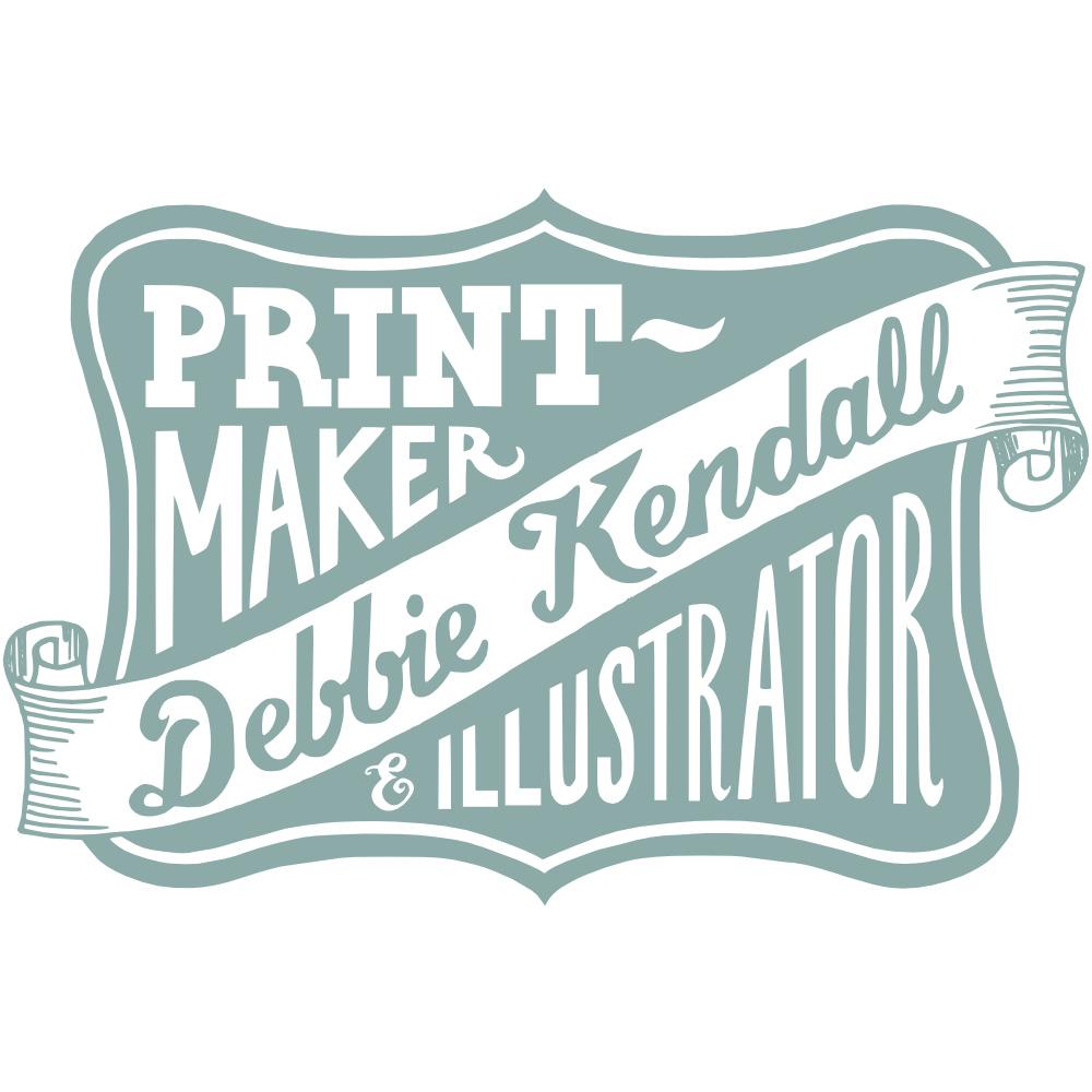 Hand Lettered Logo Design | Debbie Kendall