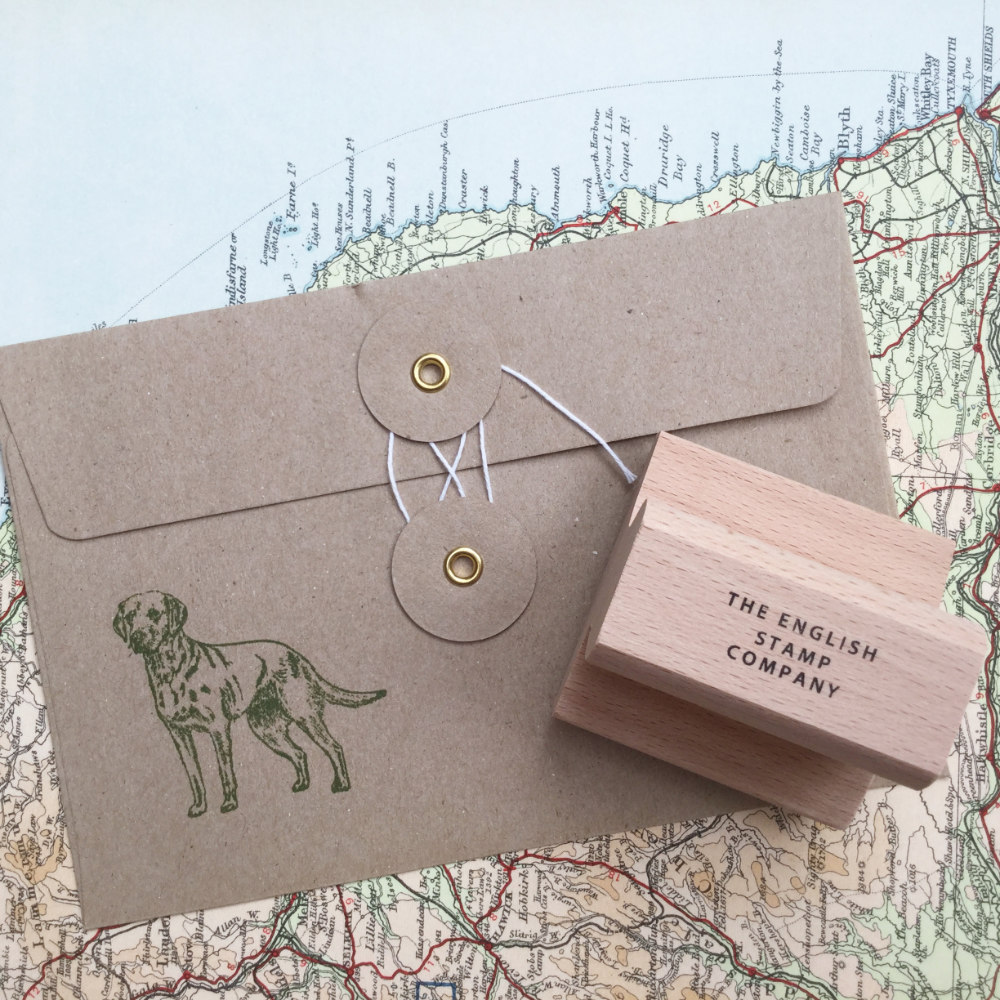 Labrador Rubber Stamp | The Enlightened Hound