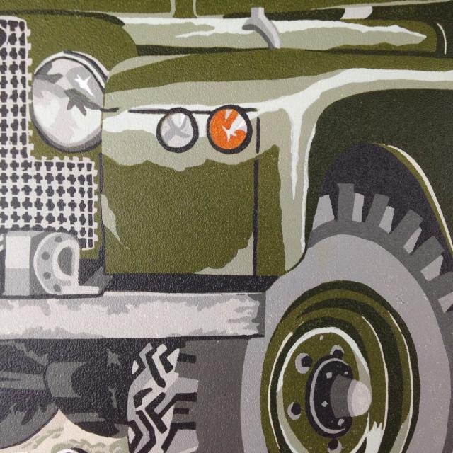 Land Rover illustration print | The Enlightened Hound