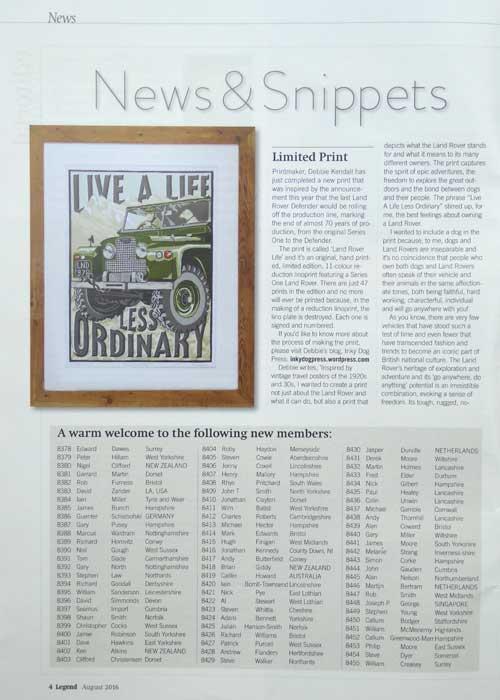 Legend Land Rover Magazine Feature | The Enlightened Hound