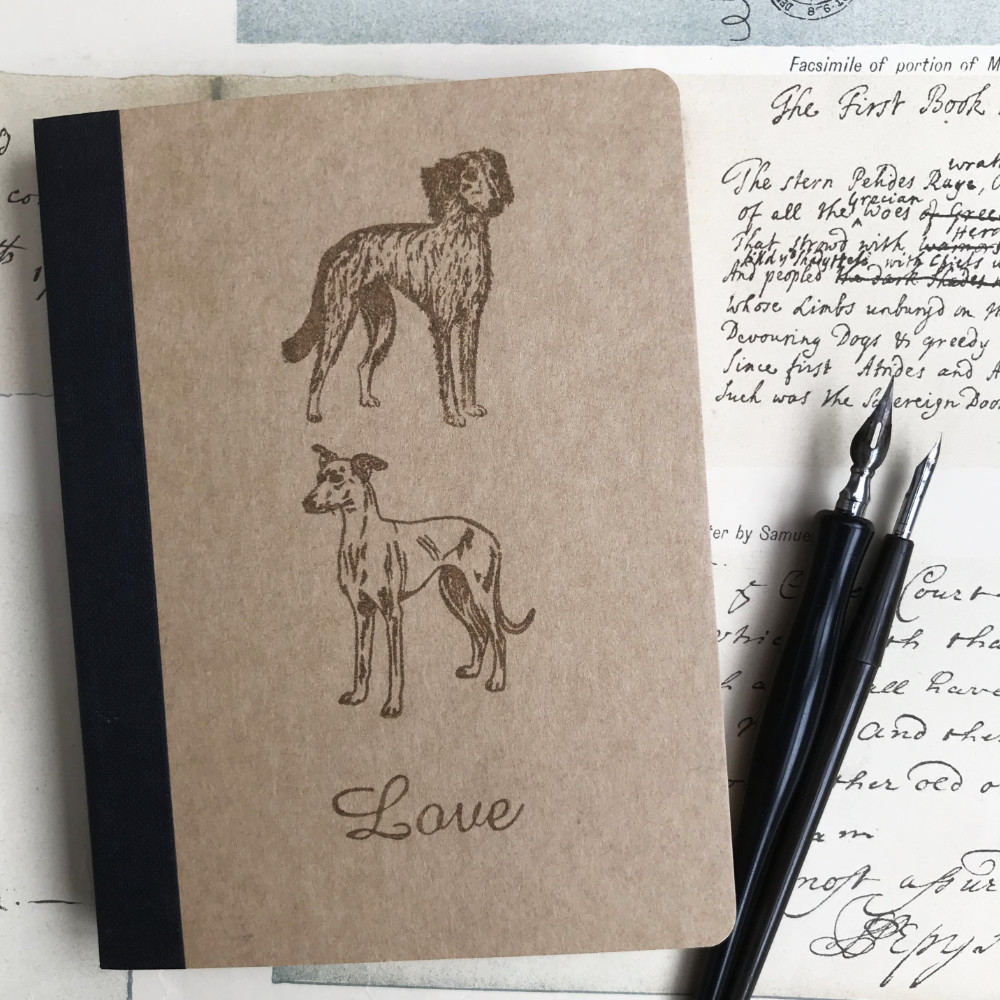 Lurcher Rubber Stamp | The Enlightened Hound