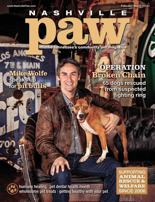Nashville Paw Magazine Cover