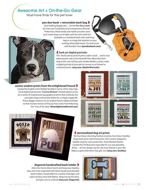 Nashville Paw Magazine Feature | The Enlightened Hound