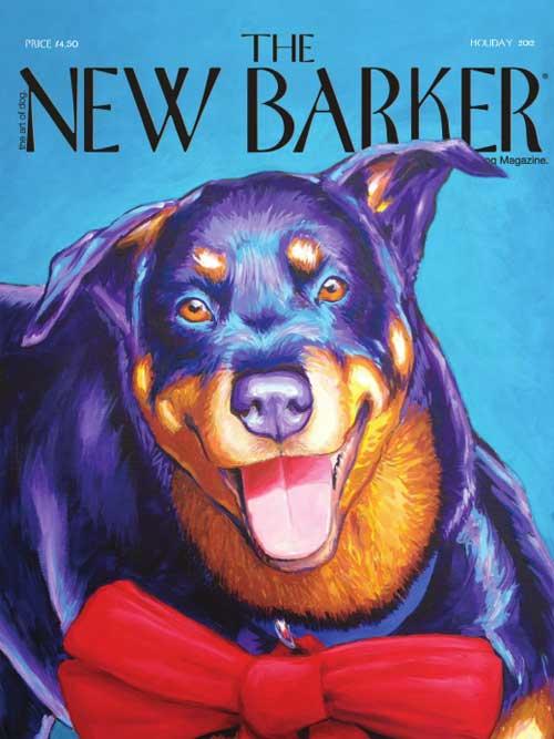 New Barker Magazine Cover USA