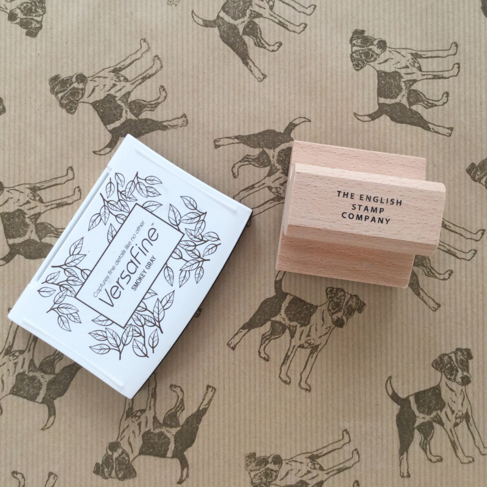 Parsons Russell Terrier Rubber Stamp | The Enlightened Hound
