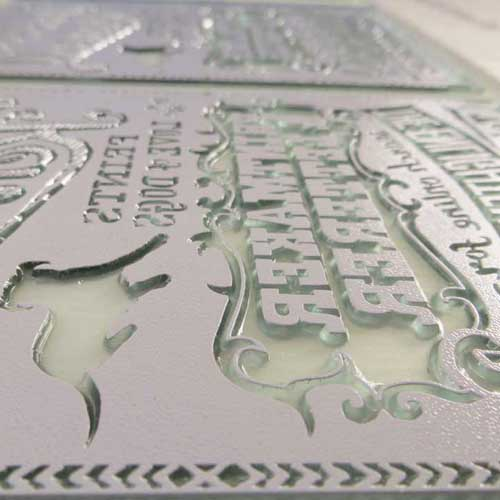 Photopolymer relief plate