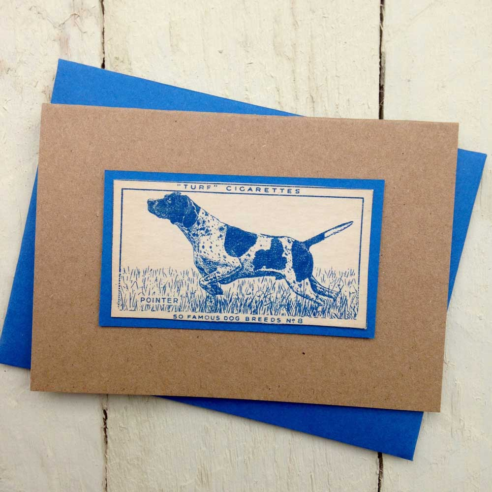 English German Short Haired Pointer greeting card | The Enlightened Hound
