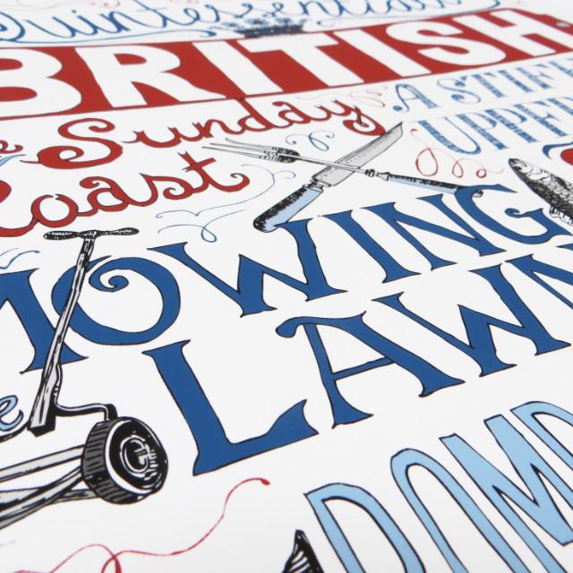 Quintessentailly British Giclee Print| The Enlightened Hound