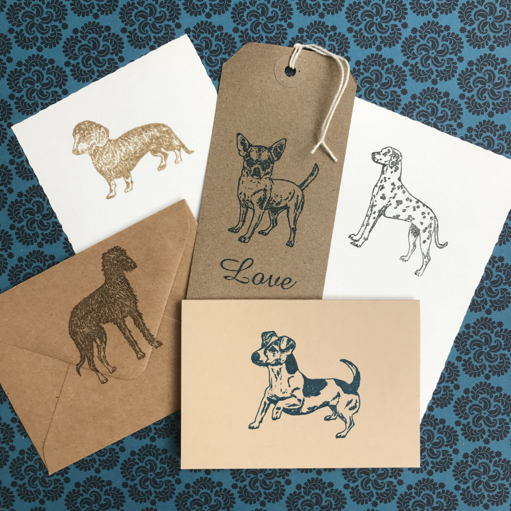 Dog Rubber Stamps | The Enlightened Hound