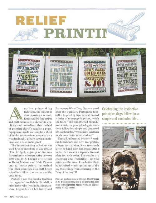 The Bark Magazine Feature | The Enlightened Hound