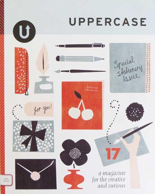 Uppercase Design Magazine Cover