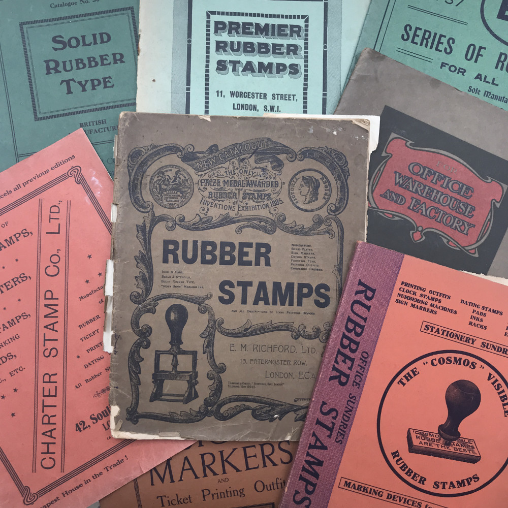 Vintage Rubber Stamp Catalogues | The Enlightened Hound